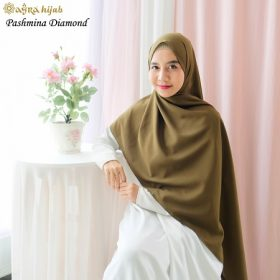 warna pashmina ceruty dan diamond