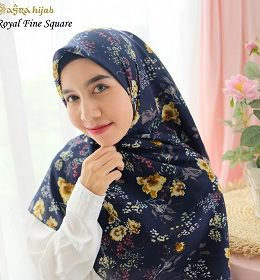 jilbab motif royal fine