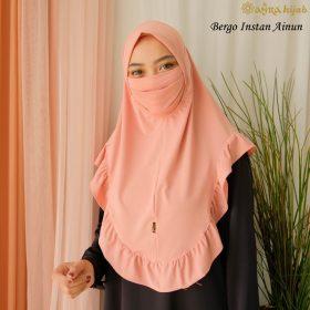 hijab langsung masker model terbaru