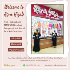 asra hijab cabang mayestik jakarta selatan